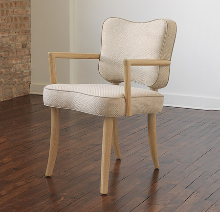 Royere Dining Chair with Arms Dining Chairs & Barstools