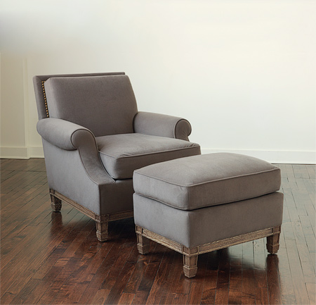Christoph Lounge Chair And Ottoman
